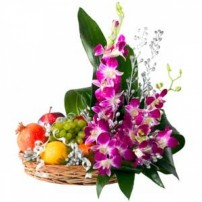 Fresh Fruits N Sided Bouquet