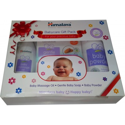 Babycare Gift Box(Oil-Soap-Powder)