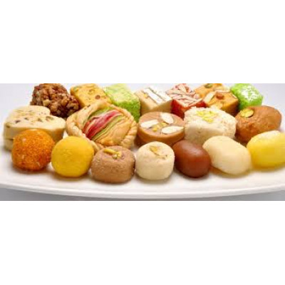 half kg assorted sweets