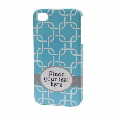 Blue Personalized iPhone Case
