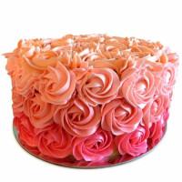 Three Row Rose Cake 2kg