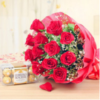 Chocolicious Roses Combo