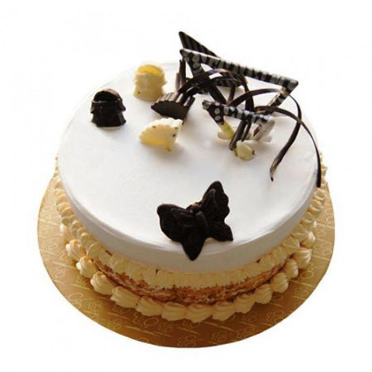 Butterscotch Round Cake