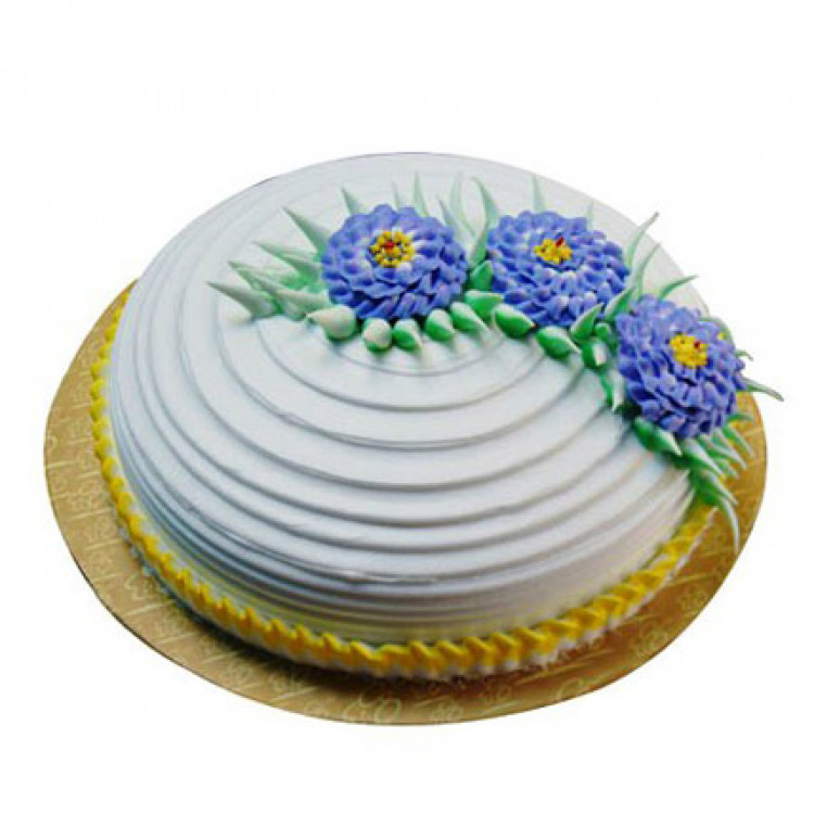 Pineapple Swirl Cake Half Kg Parent