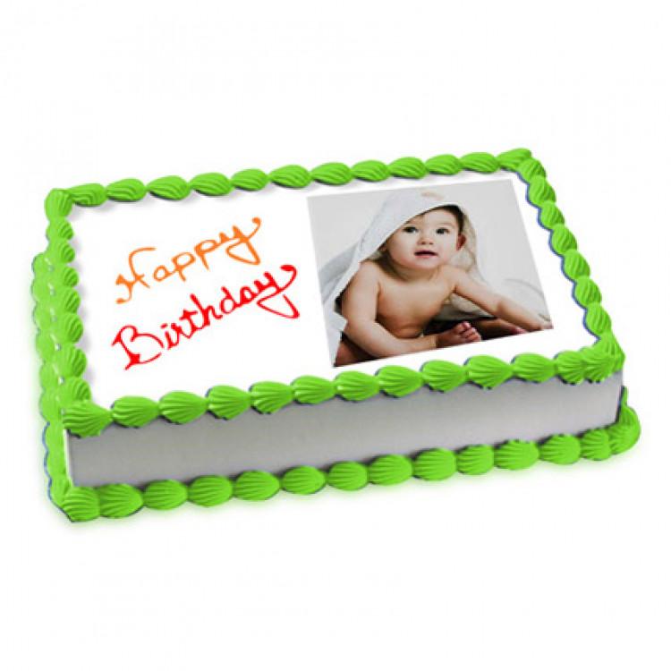 Photo Cake Pineapple