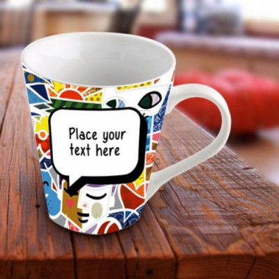 Personalized Vibrant Mug