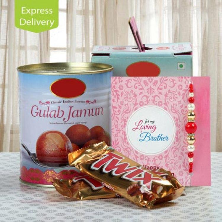 Chocolate And Gulab Jamun Love