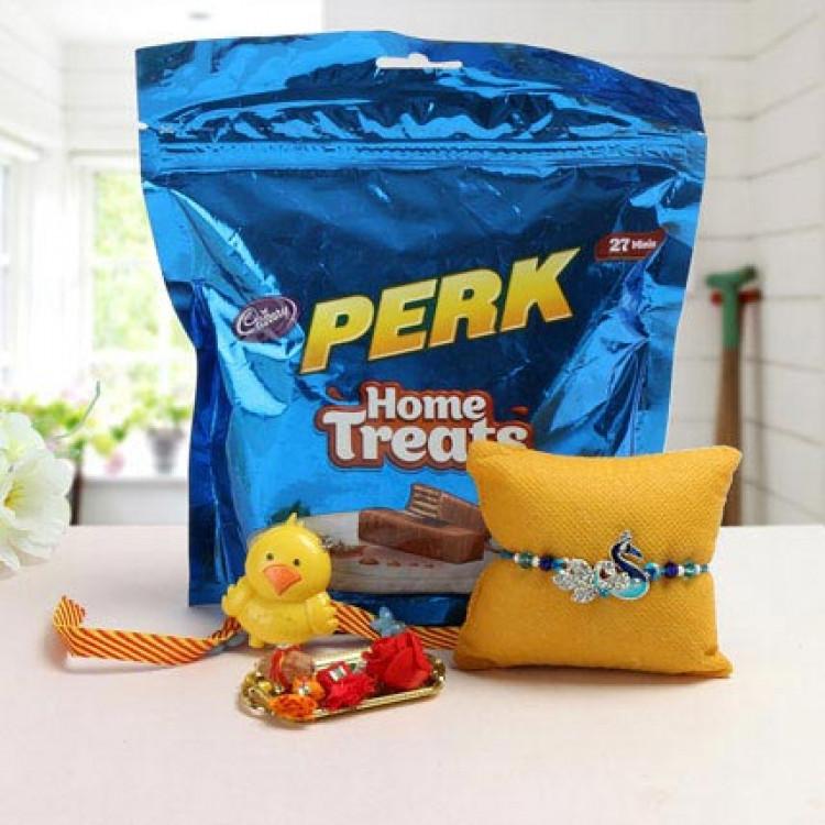 Cute N Tasty Rakhi Treat