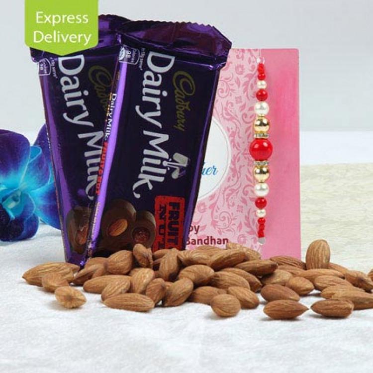 Rakhi Special Fruit N Nut Combo