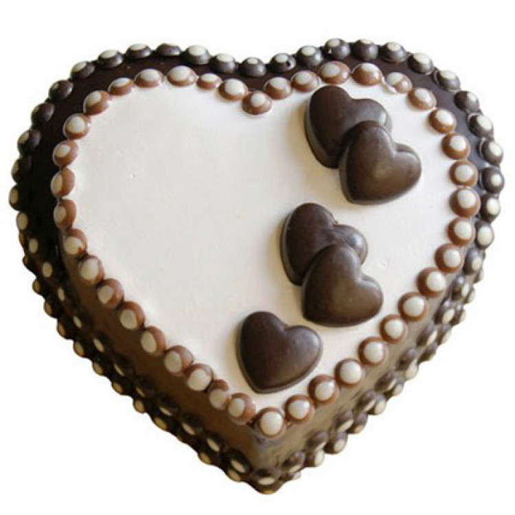 Special Heart Chocolate Cake