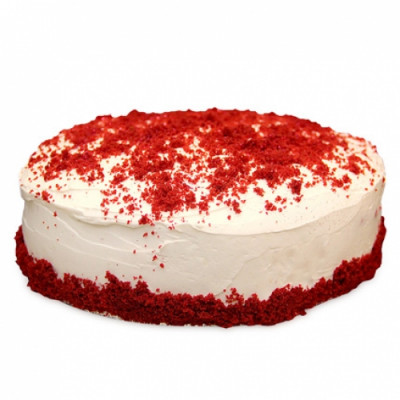 Red Velvet Fresh Cream Cake Half Kg